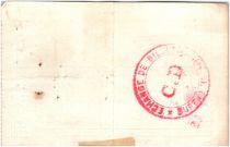 Francia 10 Francs Aniche City - 1915