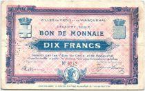Francia 10 Francs Croix-Wasquehal City