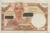 Francia 100 F Mercury - Suez issue