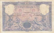 Francia 100 Francs Blue and pink - 24-06-1889 - Serial R.477