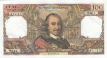 Francia 100 Francs Corneille -  04-07-1974 - Serial W.812
