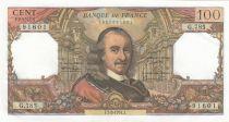Francia 100 Francs Corneille - 07-02-1974 - Serial G.785