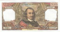 Francia 100 Francs Corneille -04-03-1976 - Serial C.947
