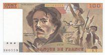 Francia 100 Francs Delacroix - 1978 Serial Y.7