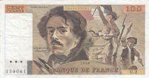 Francia 100 Francs Delacroix 1978 - Serial U.2