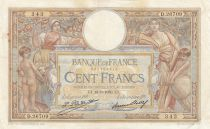 Francia 100 Francs Luc Olivier Merson - 018-09-1930 -  Serial D.26709
