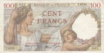 Francia 100 Francs Sully - 11-01-1940 - Serial V.6333