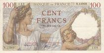 Francia 100 Francs Sully - 16-08-1940 - Serial N.13906