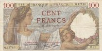 Francia 100 Francs Sully - 19-12-1940 - Serial Q.17710