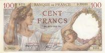 Francia 100 Francs Sully - 29-01-1942 Serial D.28020