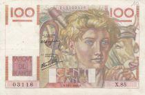 Francia 100 Francs Young farmer - 18-07-1946 - X.85