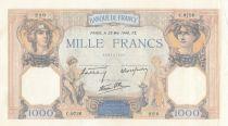 Francia 1000 Francs Ceres and Mercury - 23-05-1940 Serial C.9726-220