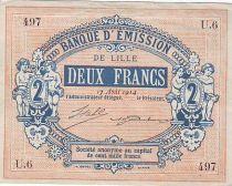 Francia 2 F Lille Banque d´émission