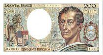 Francia 200 Francs Montesquieu - 1987 Serial Y.51