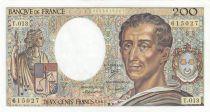 Francia 200 Francs Montesquieu 1982 - Serial T.013