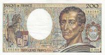 Francia 200 Francs Montesquieu 1984 - Serial H.026