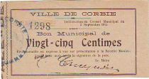 Francia 25 cent. Corbie