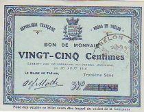 Francia 25 cent. Trélon