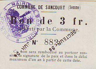 Francia 3 F Sancourt