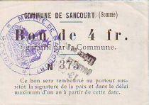 Francia 4 F Sancourt