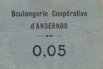 Francia 5 cent. Andernos Boulangerie coopérative