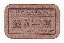 Francia 5 cent. Saint-Quentin Fleurette 3