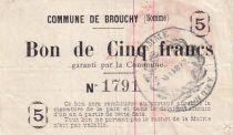 Francia 5 F Brouchy