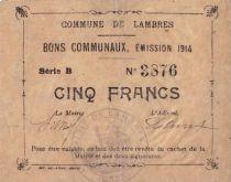 Francia 5 F Lambres