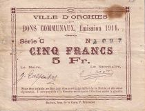 Francia 5 F Orchies