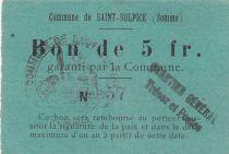 Francia 5 F Saint-Sulpice