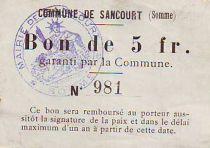 Francia 5 F Sancourt