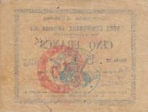 Francia 5 Francs Estrée City - 1914