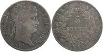 Francia 5 Francs Napoleon Empereur - 1811 Q Perpignan