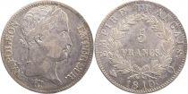 Francia 5 Francs Napoleon Empereur - 1813 Q Perpignan