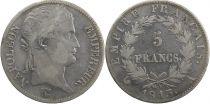 Francia 5 Francs Napoléon I - 1813 A