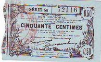 Francia 50 cent. Fourmies