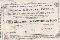 Francia 50 cent. Monchy-Le-Preux