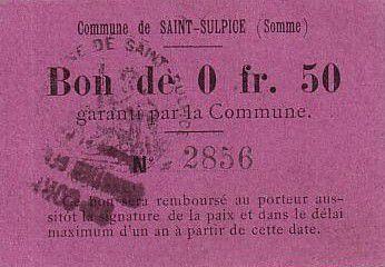 Francia 50 cent. Saint-Sulpice