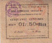 Francia 50 cent. Vitry-En-Artois