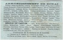 Francia 50 Centimes Douai City - 1916