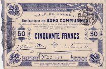 Francia 50 F Cambrai