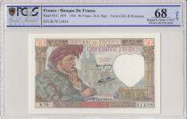 Francia 50 Francs Jacques Coeur - 24-04-1941 Serial B.70-  PGGS 68 OPQ