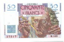 Francia 50 Francs Le Verrier - 1950