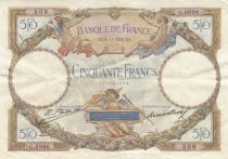 Francia 50 Francs Luc Olivier Merson - 06-11-1930