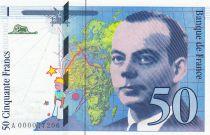 Francia 50 Francs Saint-Exupéry - 1992 Serial A.000047208
