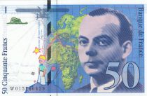 Francia 50 Francs Saint-Exupéry - 1994 Serial H015
