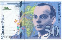 Francia 50 Francs Saint-Exupéry - Serial F.010 - 1993