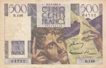 Francia 500 Francs Chateaubriand - 02-07-1953 Serial R.146