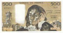 Francia 500 Francs Pascal - 02-01-1969 - U.13