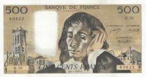 Francia 500 Francs Pascal - 086-01-1970 - H.16